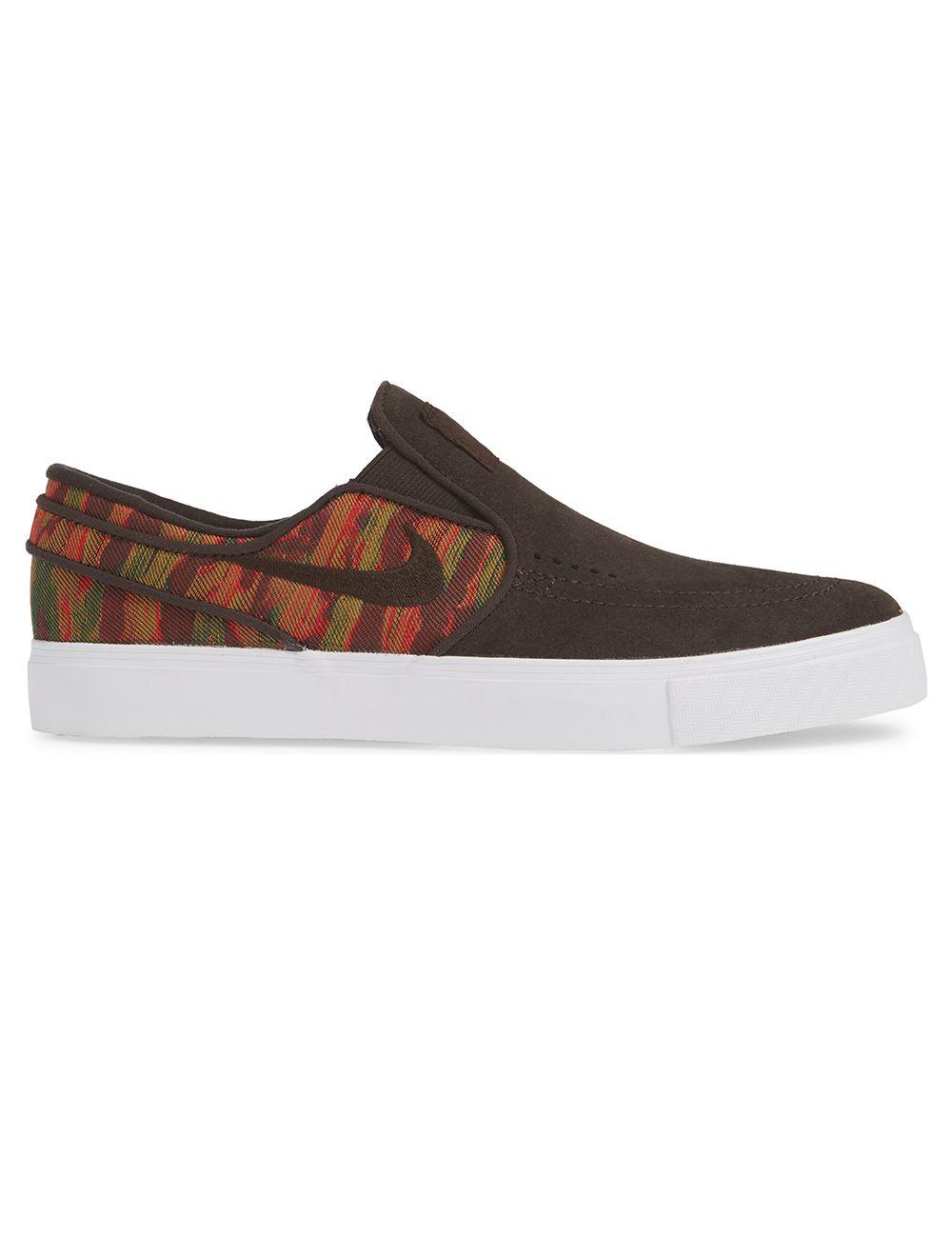 ayuda líquido Porque  Nike SB. Zoom Stefan Janoski Slip Premium. Velvet Brown/ Multi-Color.