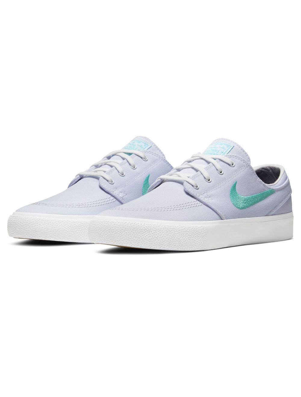 Nike SB. Zoom Janoski Canvas RM. White/Tropical Twist/White.