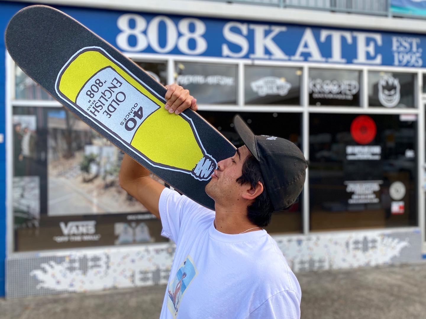 808 Skate 40oz. graphic Jessup Grip now available in-store | online