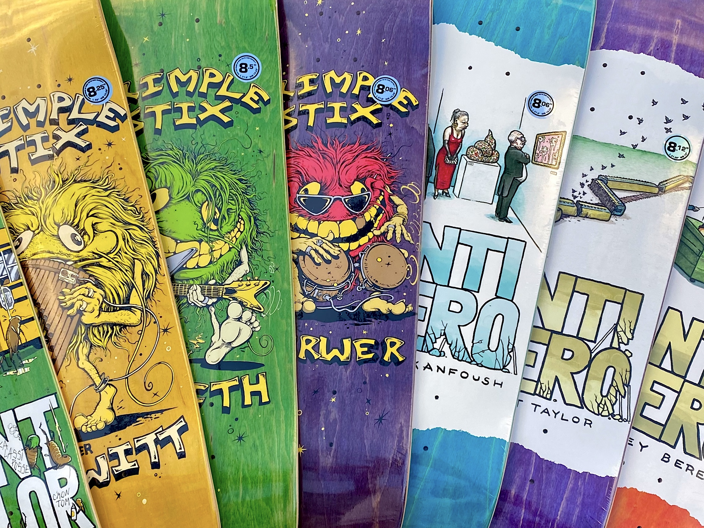 Anti-Hero Fall 2020 Decks now available in-store | online