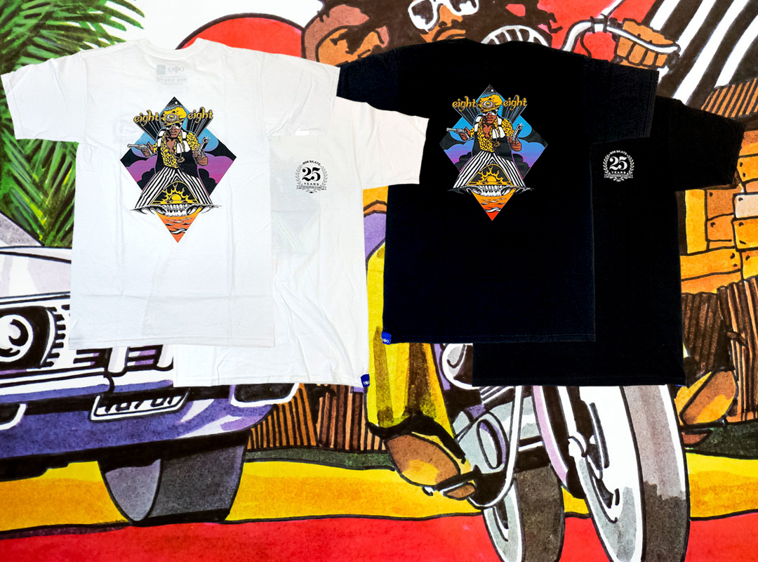 808 Skate One And All series tee's online now