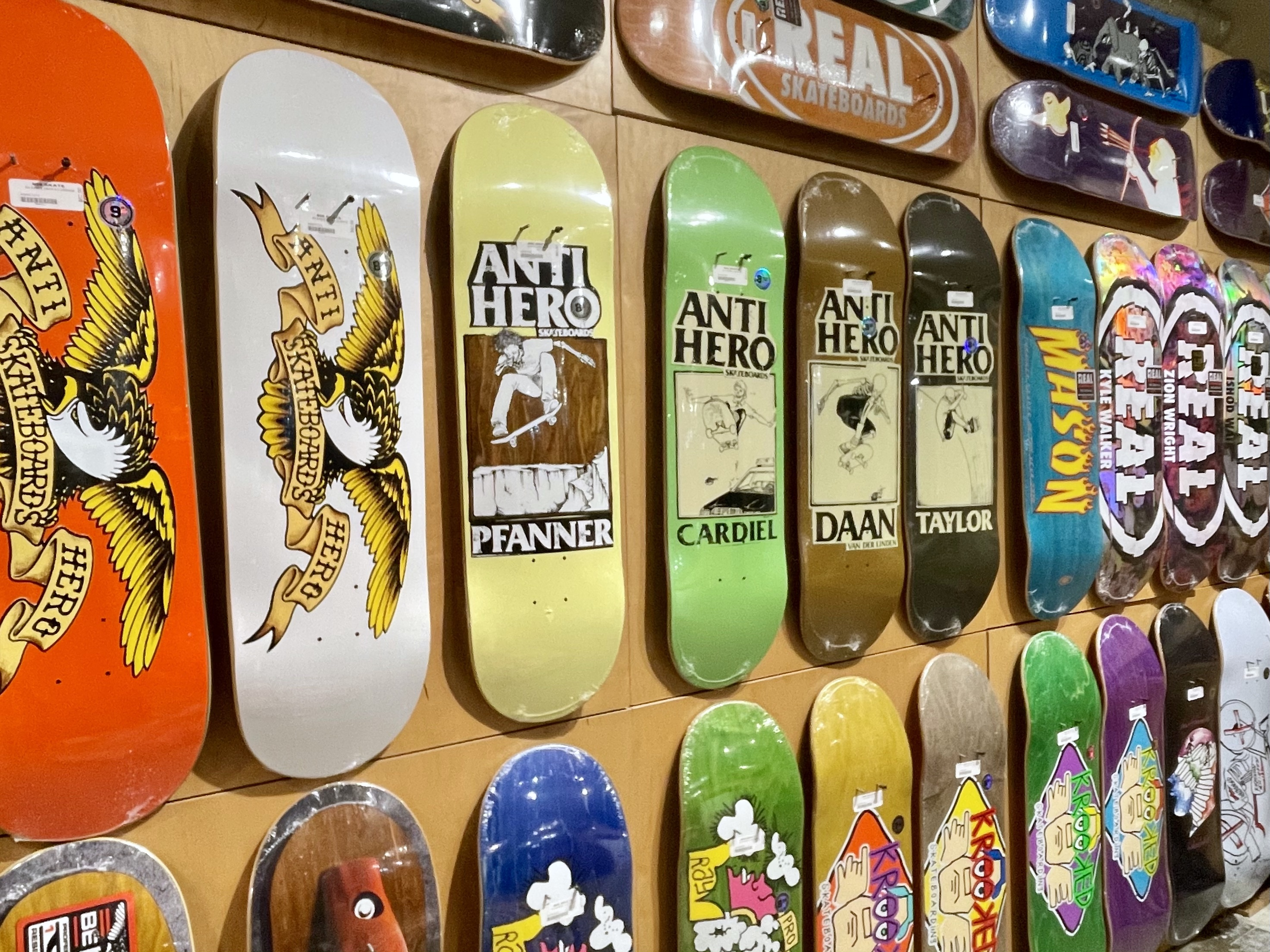 New wood from DLX available in-store | online