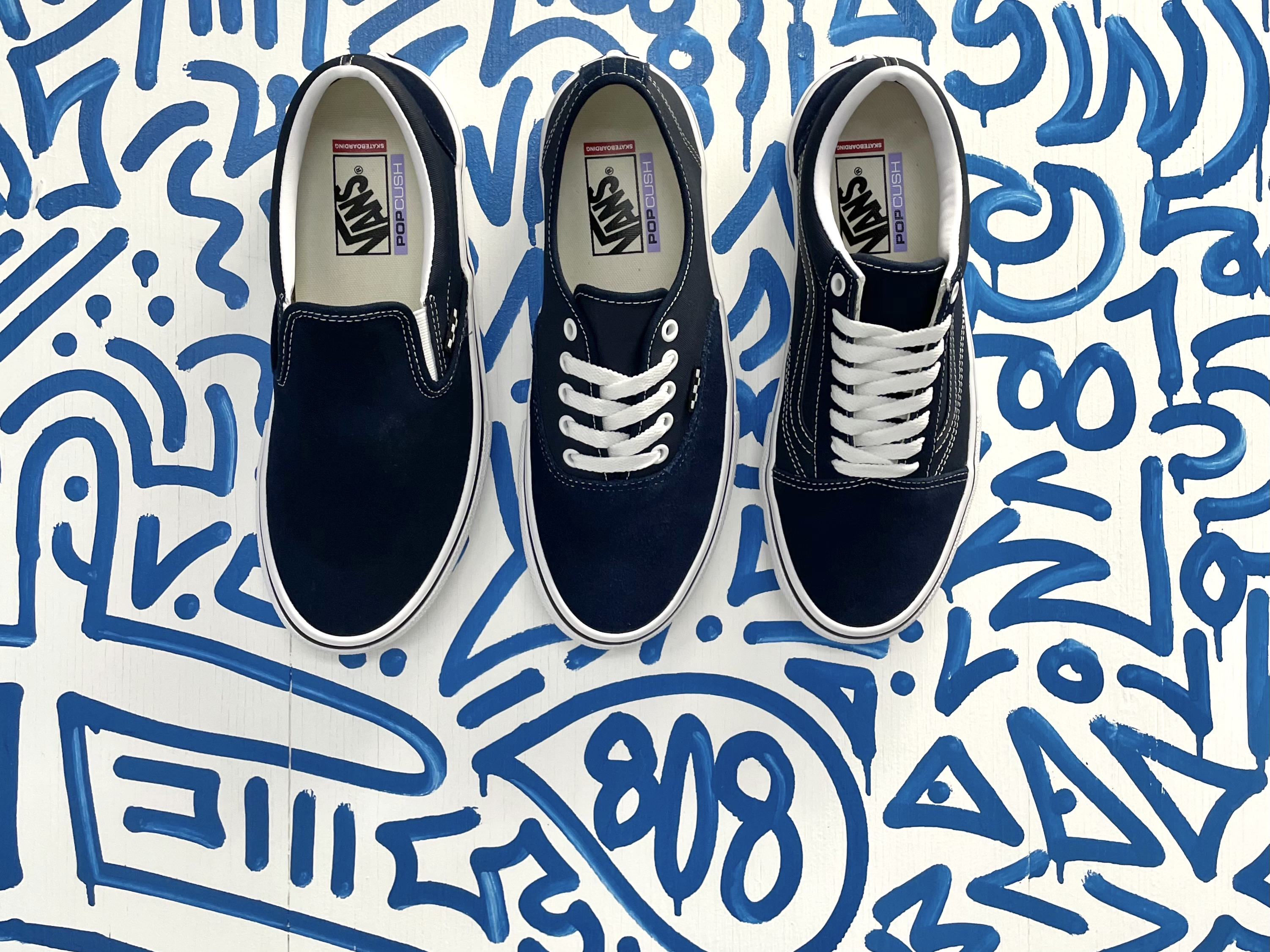 Vans Skate Classics Dress Blue Pack available in-store   online
