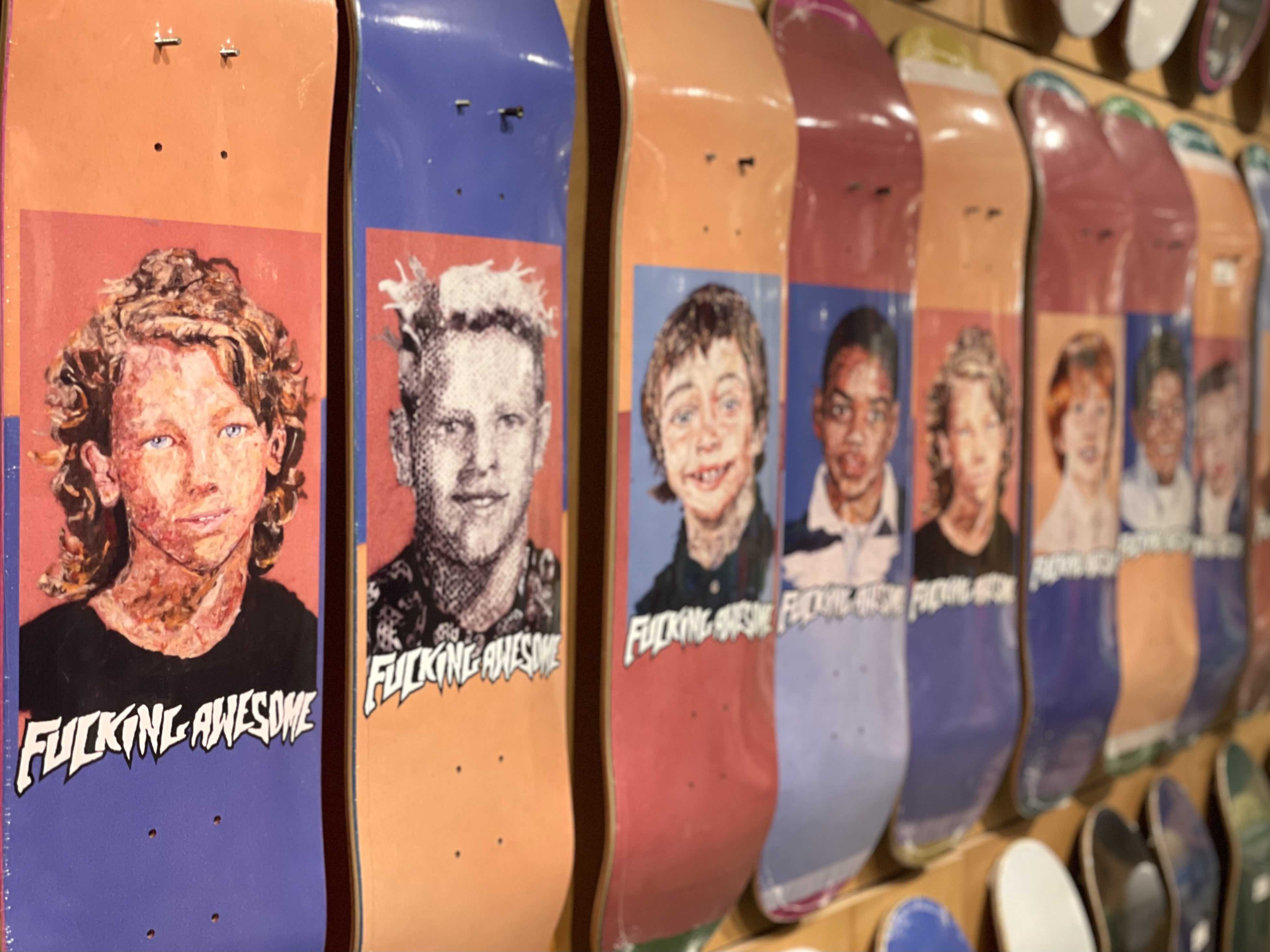 Fucking Awesome Felt series pro decks now available in-store