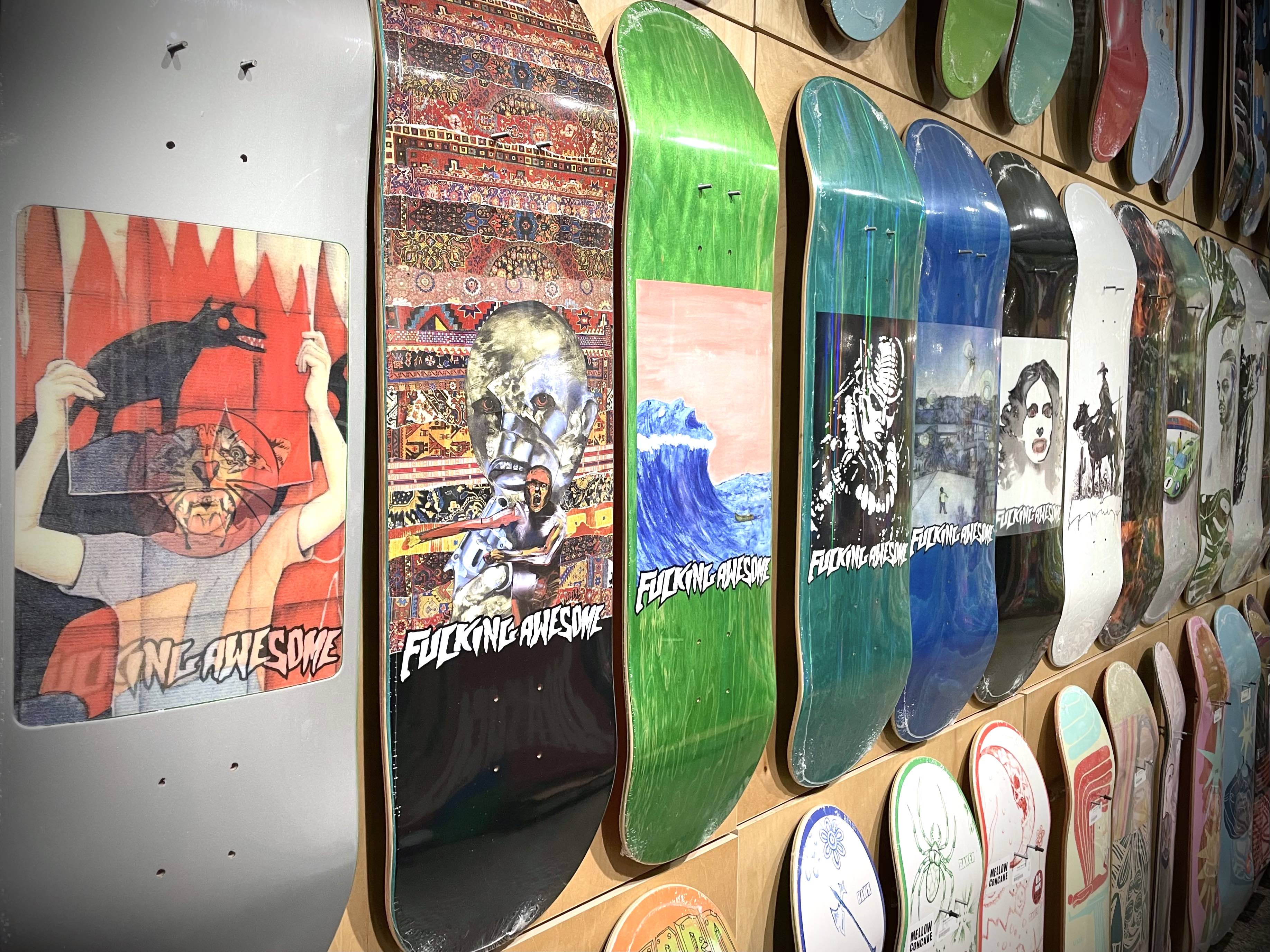 Fucking Awesome Spring 2021 Decks now available in-store