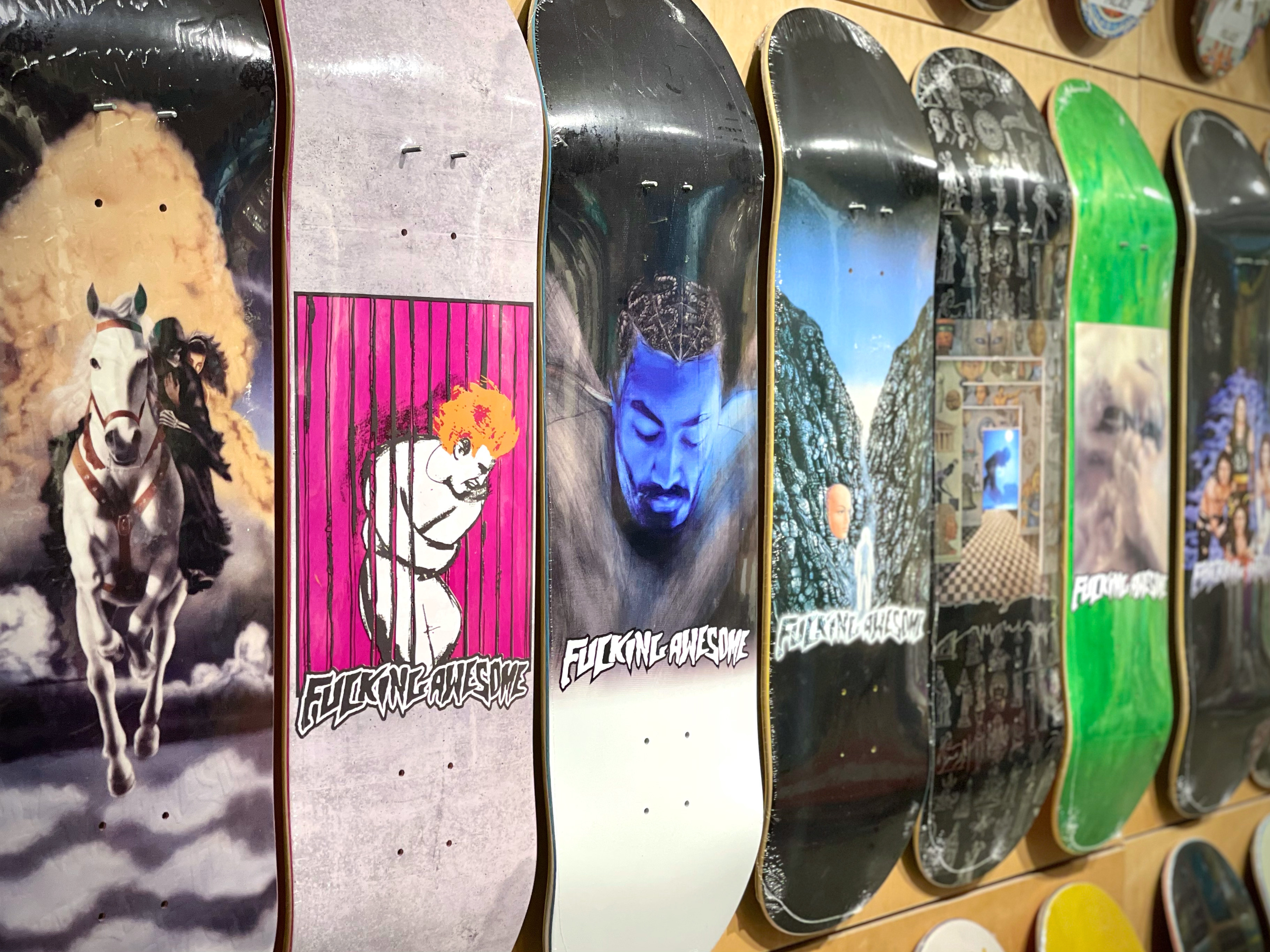 Fucking Awesome Summer 2021 Decks In-store now