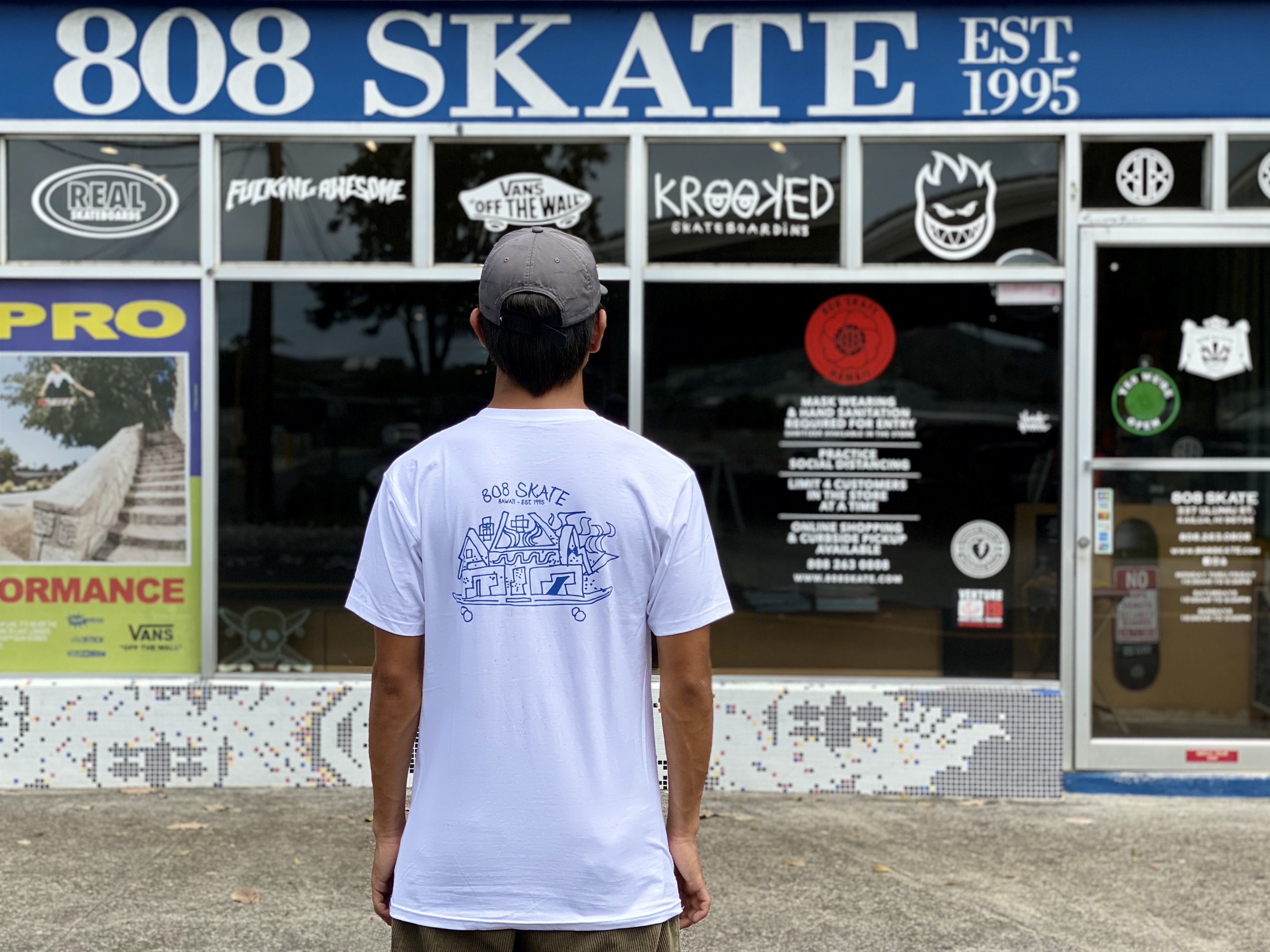 808 Skate x Gonz Sketch Tee available in-store | online