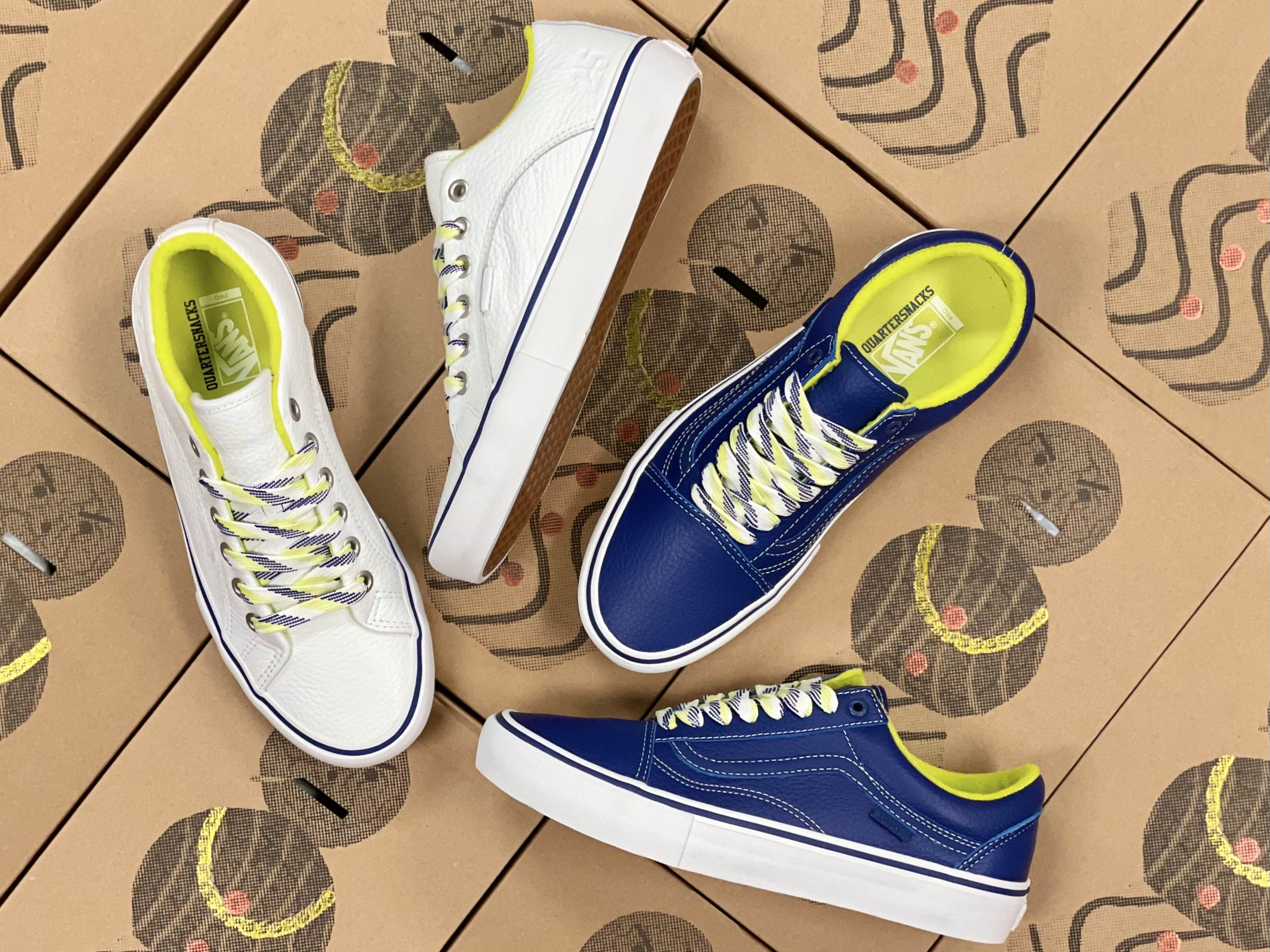 Quartersnacks x Vans now available in-store | online