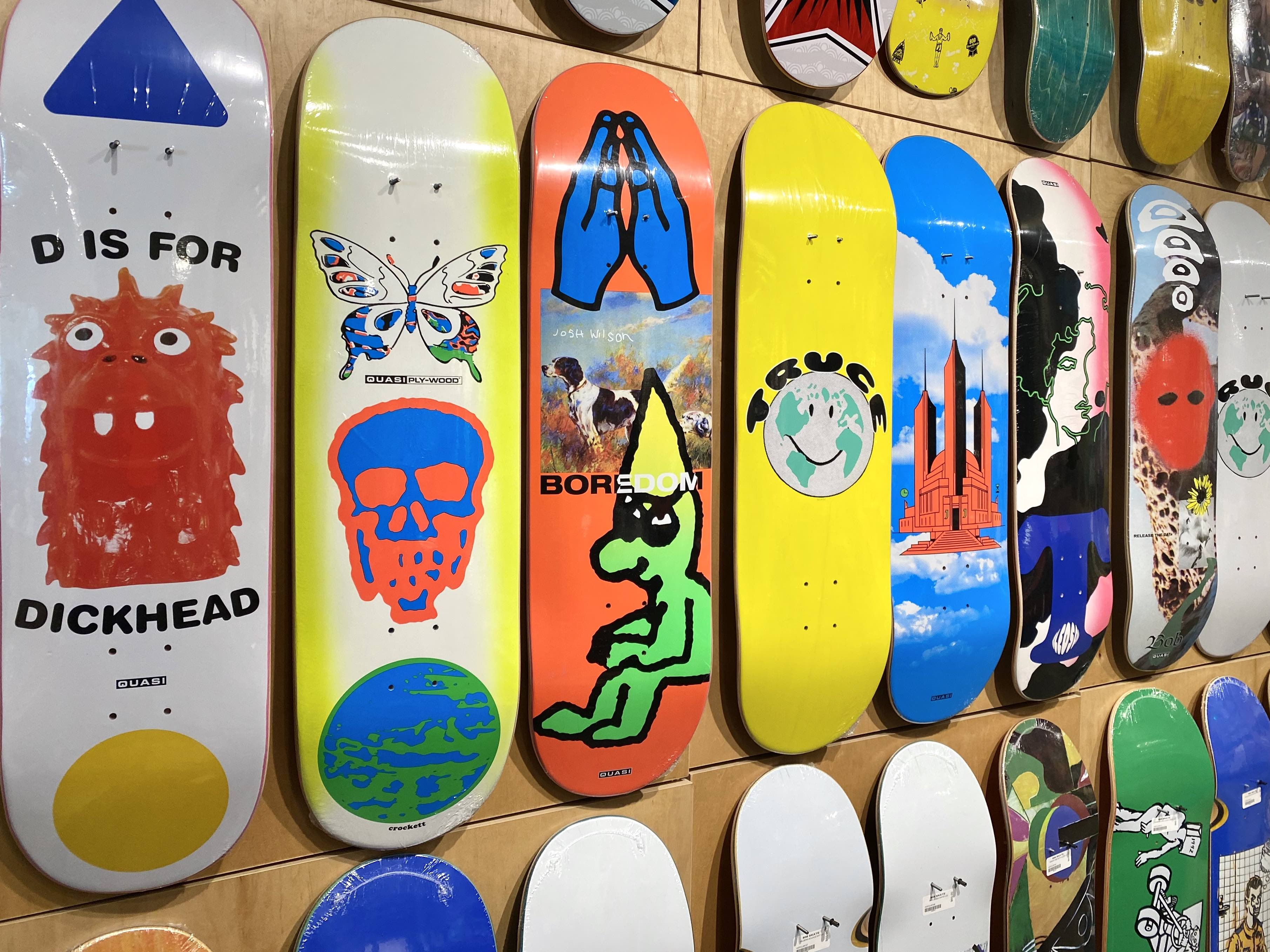 New wood from Quasi Skateboards now available in-store | online