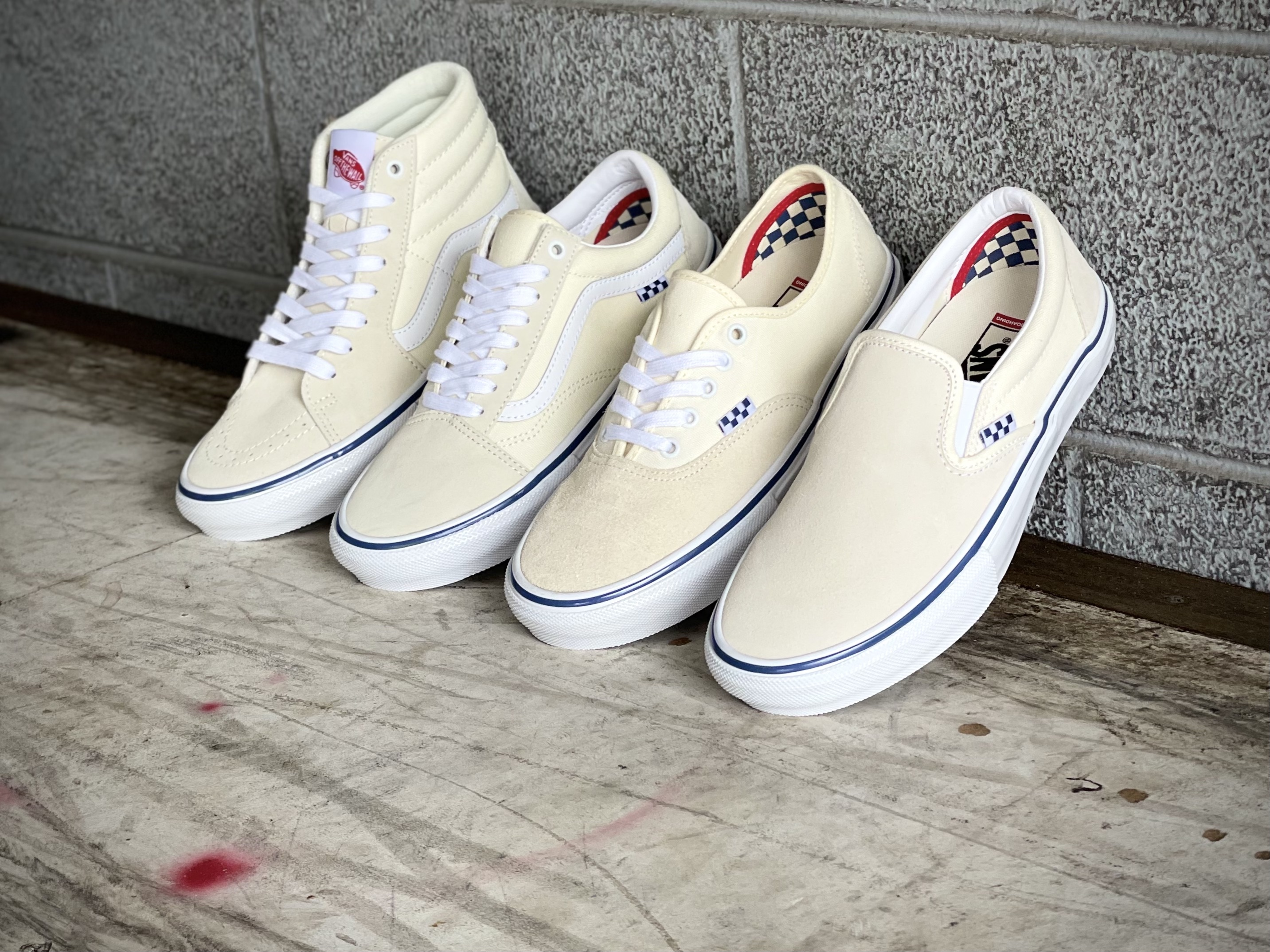 All New Vans Skate Classics Off White Collection now available in-store | online