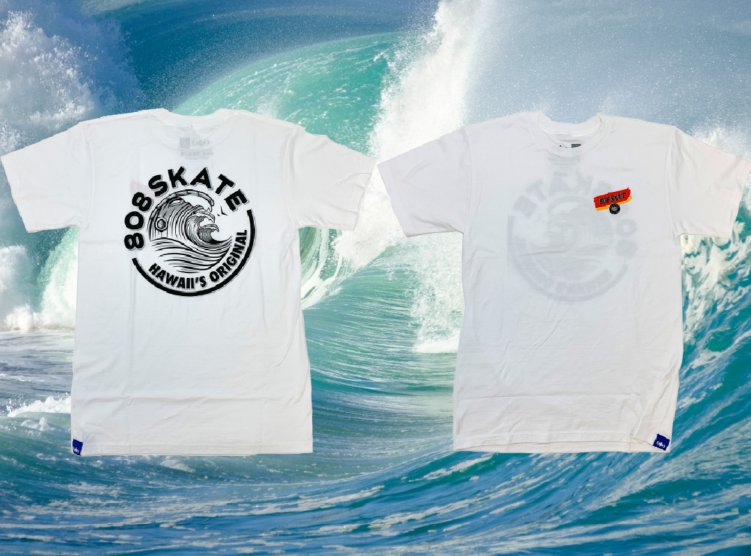 New shop Wave tee's available in-store | online